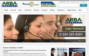 Arba Mühendislik Web Sitesi