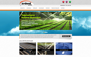 Ardent Group Web Sitesi