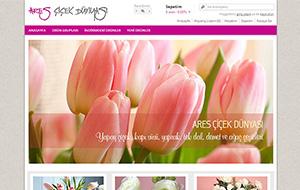 Ares Çiçekçilik E-Ticaret Sitesi
