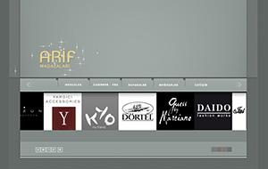 Arif Mağazaları Web Sitesi