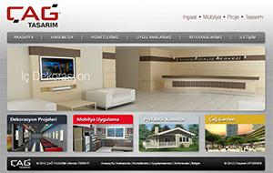 Çağ Tasarım Web Sitesi