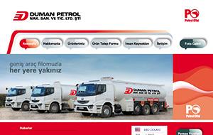 Duman Petrol Web Sitesi