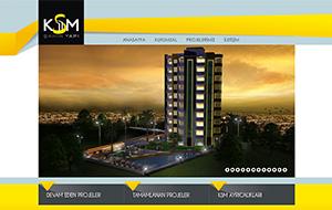 Ksm Şahin Yapı Web Sitesi