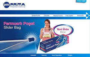 Prima Ambalaj Web Sitesi