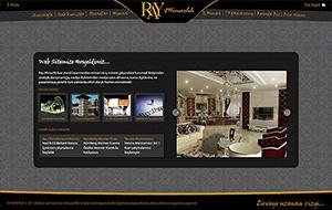 Ray Mimarlık Web Sitesi