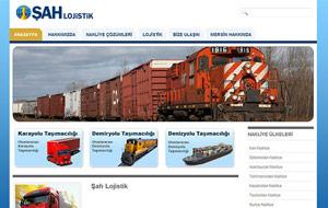 Şah Lojistik Web Sitesi
