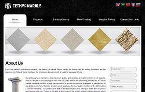 Tethys Marble Web Sitesi
