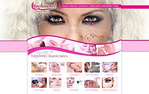 Tuchannel Güzellik Web Sitesi