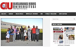 Kıbrıs Üniversitesi H. A. Web Sitesi